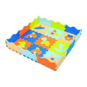 Marine animal multicolor interlocking mats