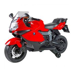 Moto elettrica BMW K1300S rossa