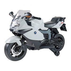 Moto elettrica BMW K1300S bianca