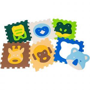 Mattonelle puzzle animali 42×42