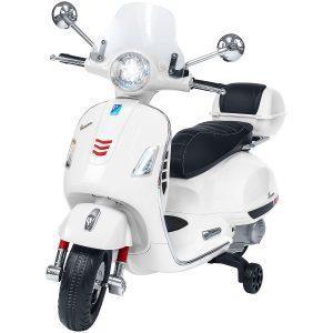 Vespa GTS super sport bianca