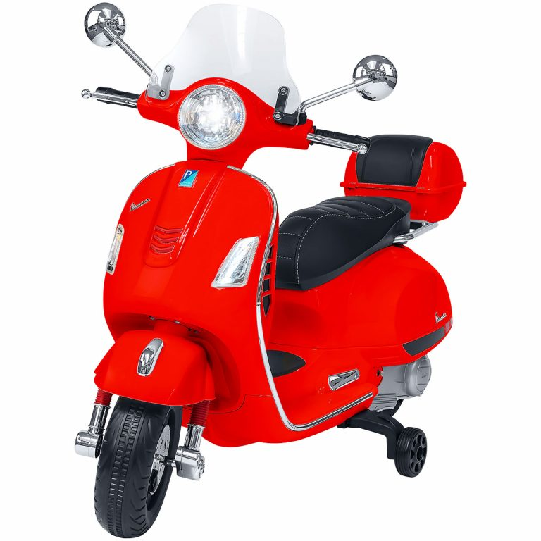Vespa GTS super sport rossa