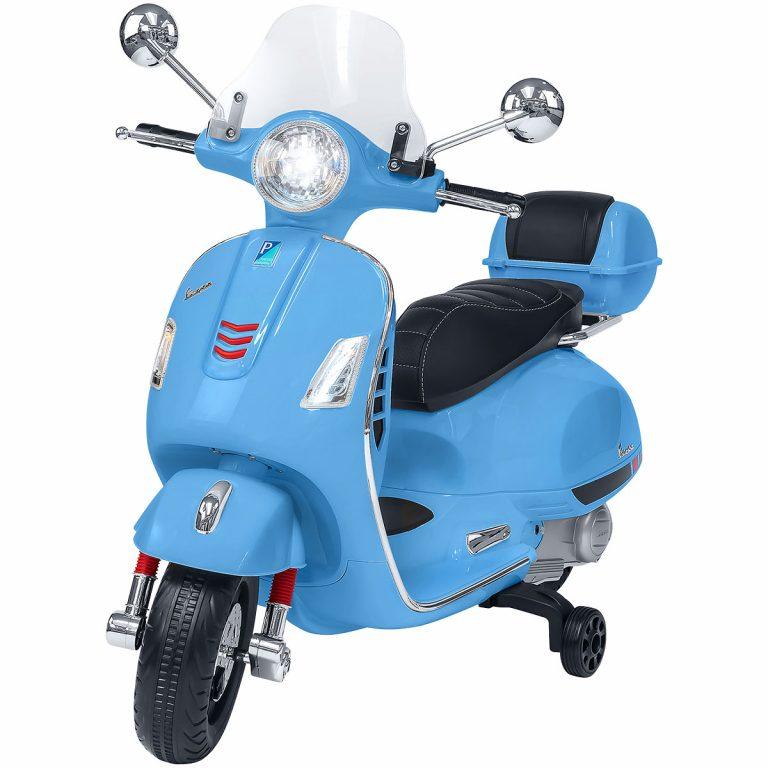 Vespa GTS super sport azzurra